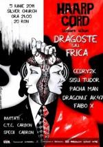Concert lansare album Haarp Cord în The Silver Church din Bucureşti