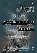 Martin Buttrich în Club Midi din Cluj-Napoca