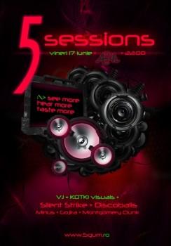 """Lansare """"5 Sessions"""" în The Ark din Bucureşti"""