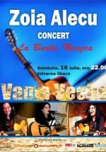 Concert Zoia Alecu în La Barba Neagră din Vama Veche