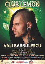 Vali Bărbulescu la Club Lemon din Timișoara