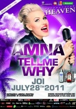 Concert Amna în Club Heaven Outdoor din Timişoara