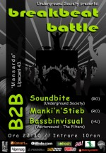 Breakbeat Battle la Mansardă în Bucureşti