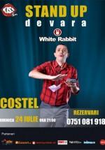 Stand-up comedy cu Costel în White Rabbit din Sibiu