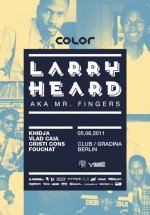 Larry Heard în Grădina Berlin Club din Bucureşti