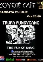 Concert The Funky Gang în Coyote Cafe la Bucureşti