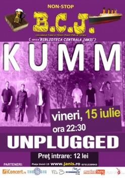 Concert Kumm în Biblioteca Centrală Janis din Cluj-Napoca