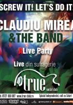 Concert Claudiu Mirea & The Band în True Club din Bucureşti