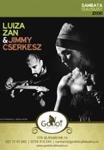 Concert Luiza Zan şi Jimmy Cserkesz în Godot Café-Teatru din Bucureşti