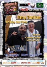 Harry Tavitian Birthday Jazz Party la Bibi Bistro din Vama Veche