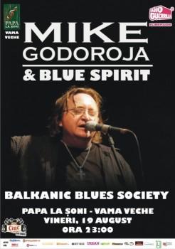 Concert Mike Godoroja & Blue Spirit la Papa la Şoni din Vama Veche