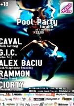 Pool Party în Turabo Summer Club din Bucureşti
