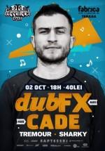 Concert Dub FX & Cade la Bucureşti