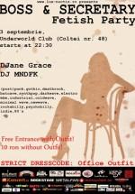 Boss & Secretary Party în Club Underworld din Bucureşti