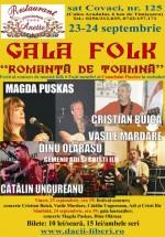 """Gala Folk """"Romanţă de toamnă"""" la Pensiunea Anett din Timişoara"""