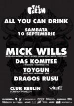 Mick Wills în Berlin Club din Bucureşti