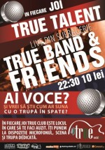 True Band & Friends în True Club din Bucureşti