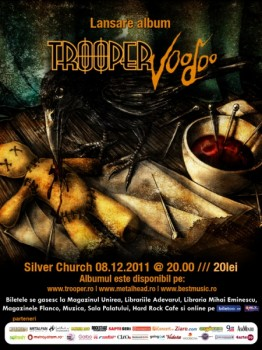 Trooper SilverChurch 262x350 Concert Trooper în The Silver Church Bucureşti