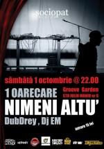 Concert  Nimeni Altu'  în Groove Garden din Braşov