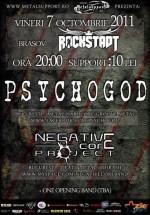 Concert Psychogod şi Negative Core Project în Rockstadt Club din Braşov
