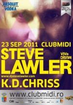 Steve Lawler şi K.D.Chriss în Club Midi din Cluj-Napoca