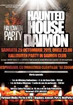 Halloween Party în Daimon Club din Bucureşti