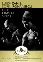 Concert Luiza Zan şi Sorin Romanescu la Godot Cafe-Teatru Bucureşti