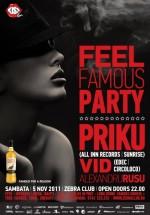 Feel Famous Party! în Zebra Club din Bacău