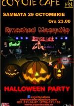Halloween Party în Coyote Cafe din București