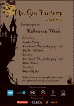 Halloween Week în The Gin Factory din Bucureşti