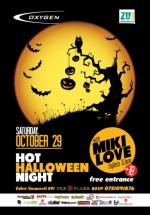 Hot Halloween Night în Oxygen Club din Bucureşti