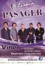 Concert Pasager în Zebbra Club din Bucureşti