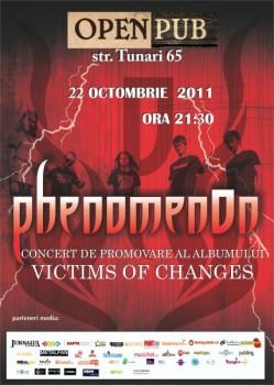 Concert PhenomenOn în Open Pub din Bucureşti