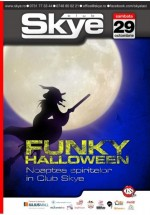 Funky Halloween Party în Club Skye din Iaşi