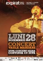 Concert Vasile Mardare în Club Expirat din Bucureşti
