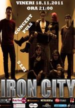 Concert Puls în Iron City din Bucureşti