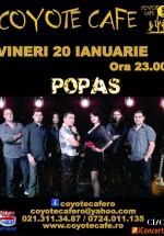 Concert Popas Band în Coyote Cafe din Bucureşti