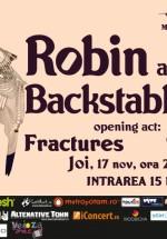 Concert Robin and the Backstabbers în Club Wings din Bucureşti