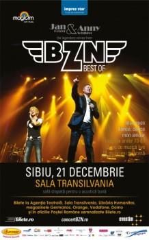 Concert BZN la Sala Transilvania din Sibiu
