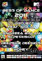 Best of Dance 2011 la Sala Palatului din Bucureşti