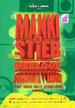 Manki'n'Stieb în Club Goblin din Bucureşti