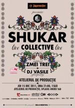 Concert Shukar Collective la Atelierul de Producţie din Bucureşti