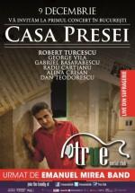 Concert Casa Presei (Robert Turcescu) în True Club din Bucureşti