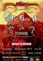 Concert Ka Gaia An & An Theos în Club Rock N' Regie din Bucureşti