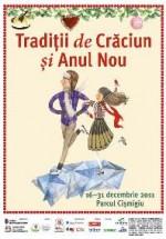 """""""Tradiţii de Crăciun şi Anul Nou"""" în Parcul Cişmigiu din Bucureşti"""