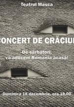 Concert de Crăciun la Teatrul Masca din Bucureşti