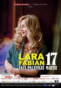 lara afis 245x350 Concert Lara Fabian la Sala Palatului din Bucureşti
