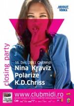 Nina Kraviz în Club Midi din Cluj-Napoca