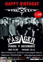 Concert Pasager în Club Wings din Bucureşti