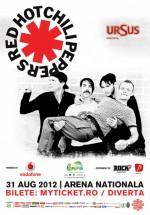 Concert Red Hot Chili Peppers la Bucureşti